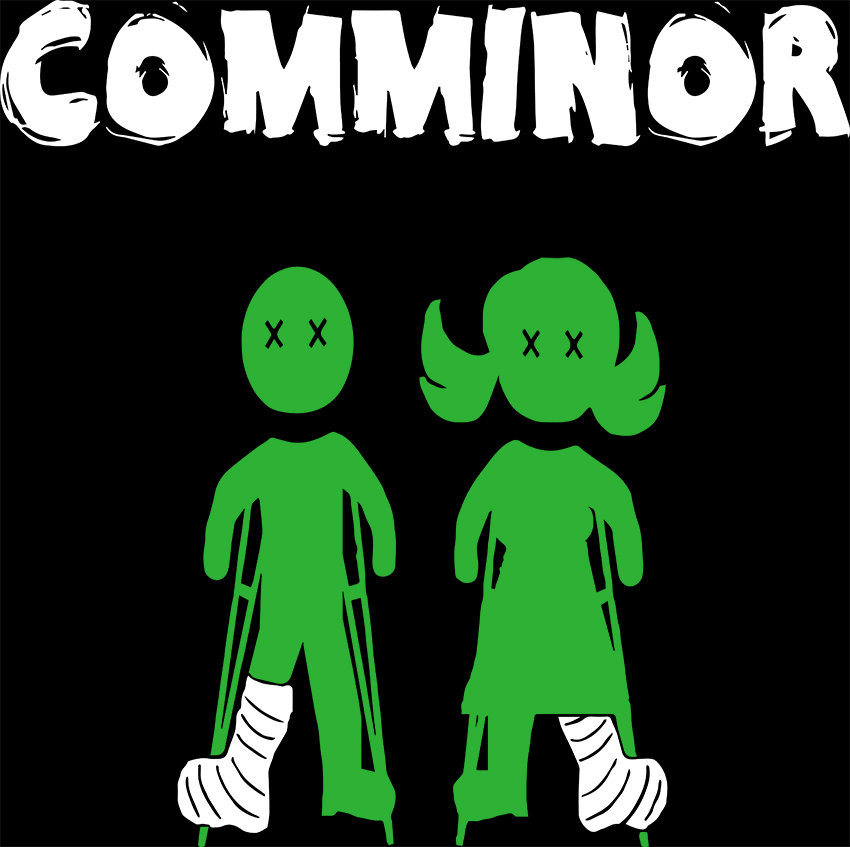 Swedish neo-punkers COMMINOR unleash their explosive album Let's Call It ART at the world