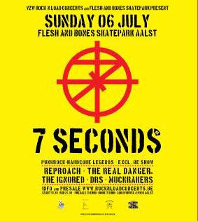 7 Seconds + Reproach + The Real Danger @ Flesh n Bones, Aalst