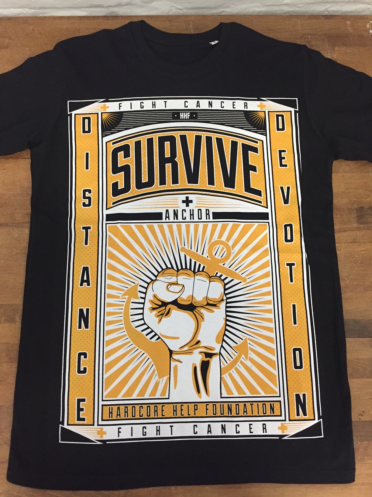 """ANCHOR and THE HARDCORE HELP FOUDNATION launch the """"Survive""""-campaign."""