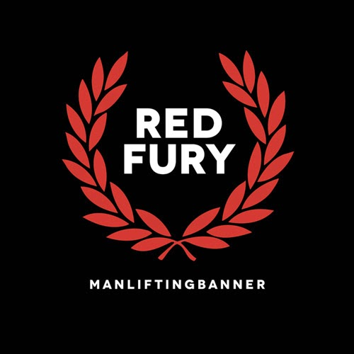 ManLiftingBanner – Red Fury