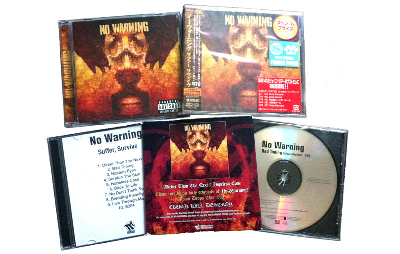 No Warning release new 7″
