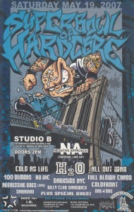Superbowl of Hardcore 2007 flyer
