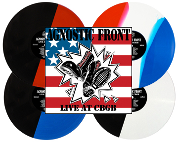 Agnostic Front – Live at CBGB re-issue available for pre-order now