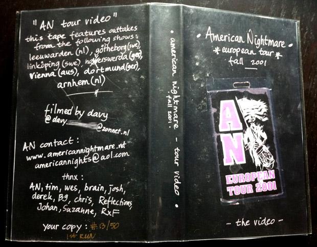 American Nightmare VHS tape