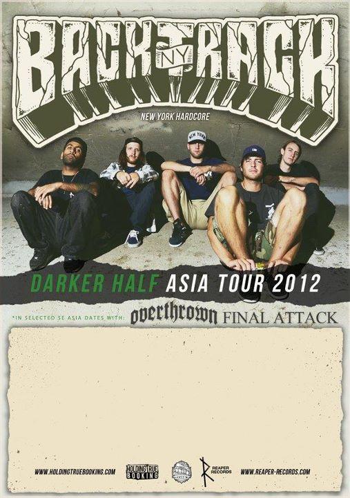 """Backtrack's """"Darker Half Asia Tour 2012"""" is underway"""