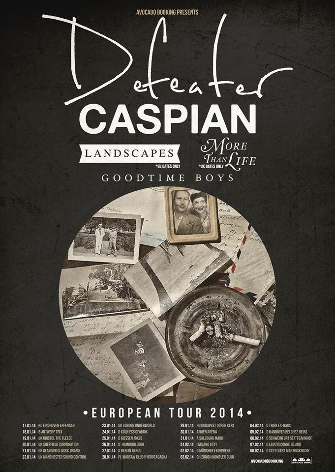 Defeater + Caspian @ Effenaar