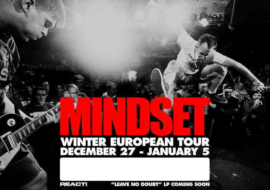 Mindset are doing an European winter tour