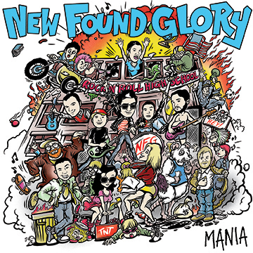 "New Found Glory announces ""Mania"" EP for Record Store Day"