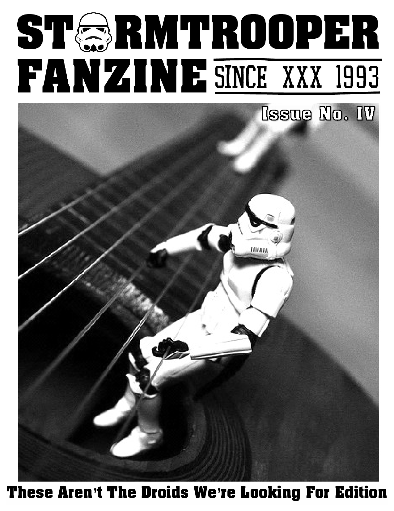 Stormtrooper Fanzine Issue 4 out now!