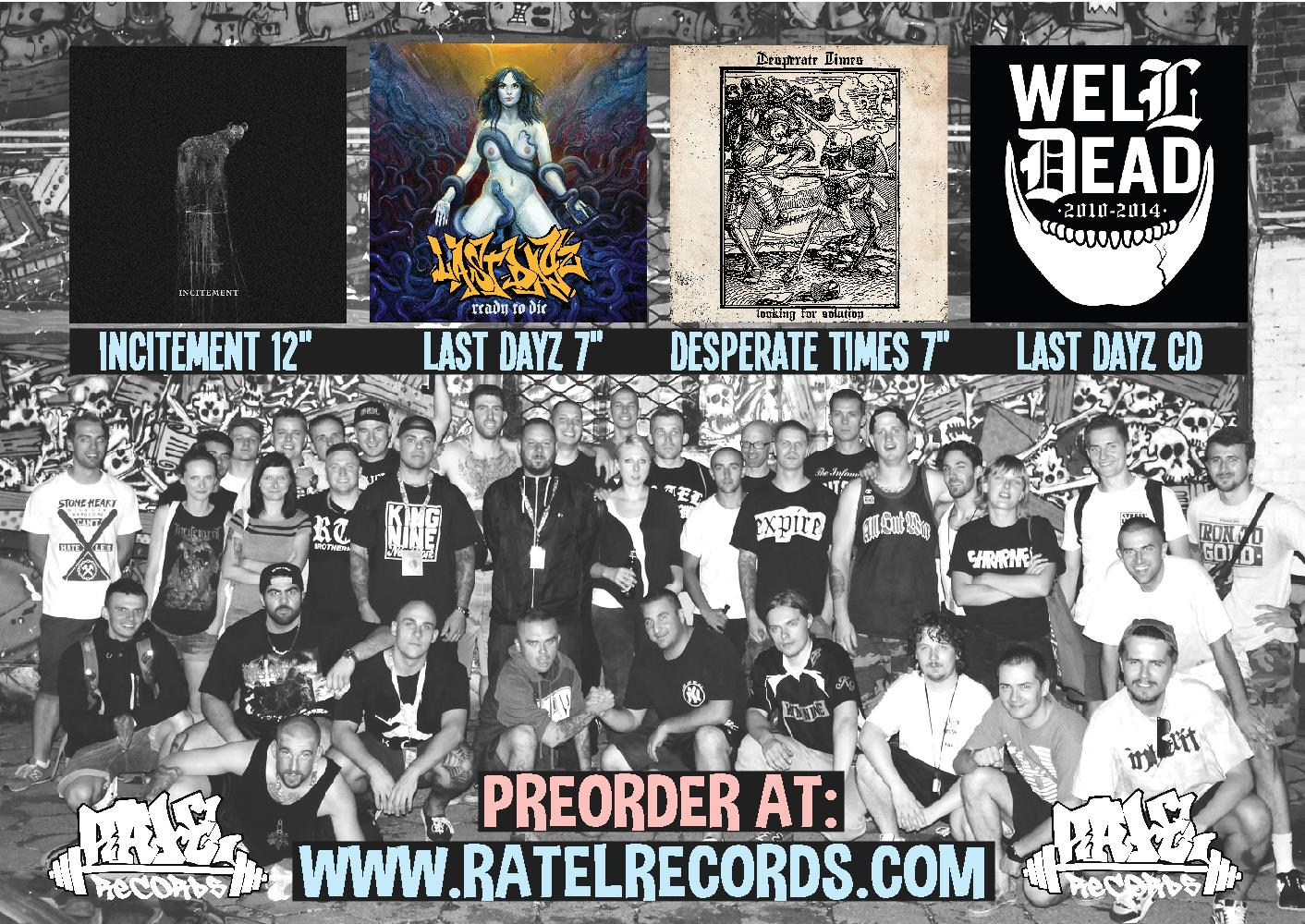 Ratel Records put up 4 new pre-orders