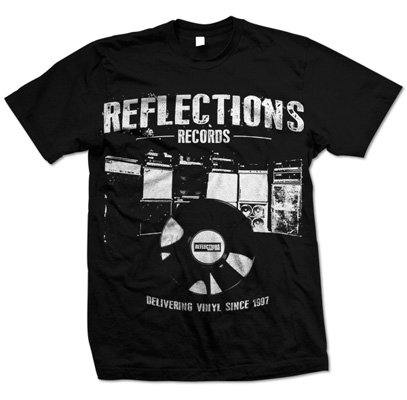 Reflections Records could use your help – t-shirt sale