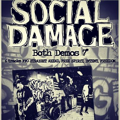 "Social Damage ""Both Demos"" 7″ pre-orders up now"
