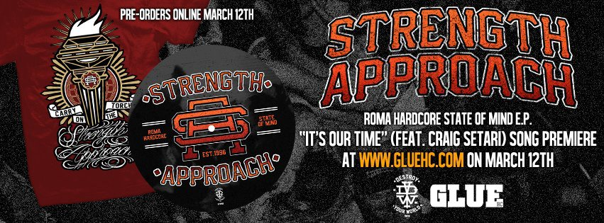 Strength Approach post new song 'It's Our Time' (feat. Craig Setari)