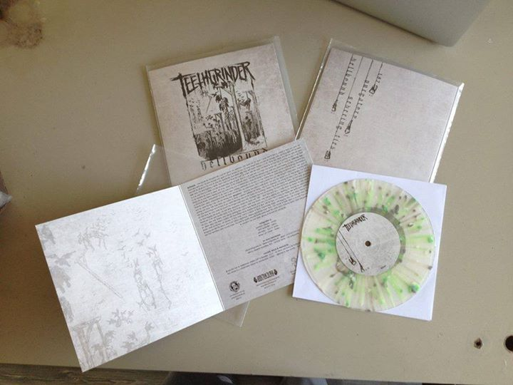 Teethgrinder – Hellbound 7″ available