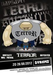 Terror, Naysayer, BWP & Risk It! @ Dynamo Eindhoven 26-8-2012