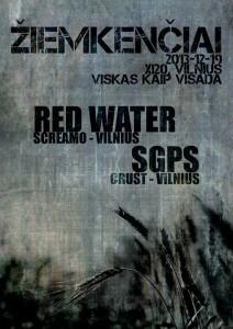 Red Water, SGPS @ XI20, Vilnius